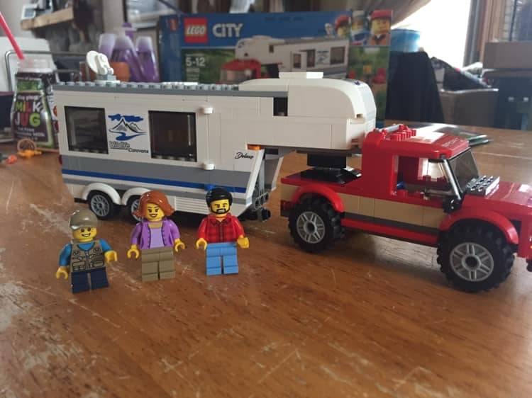 Lego Glamping