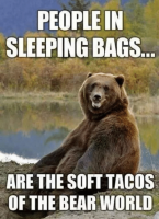 People in Sleeping Bags